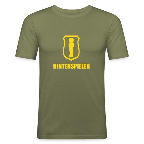 hintenspieler - Männer Slim Fit T-Shirt