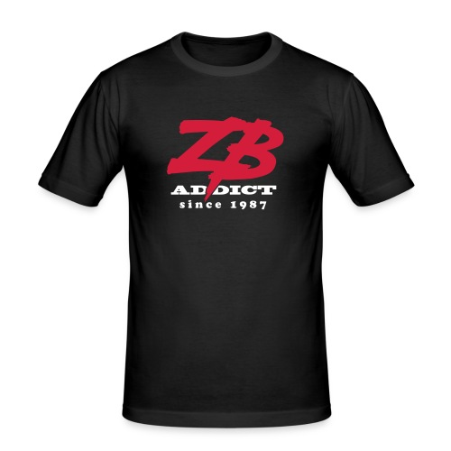 zbaddict01 - T-shirt près du corps Homme