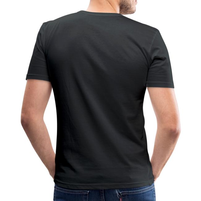 Hutsch di - Männer Slim Fit T-Shirt