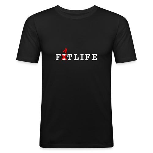 FATLIFE Kleding - Mannen slim fit T-shirt