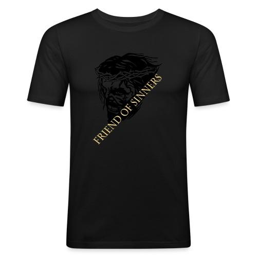 JESUS scream - Männer Slim Fit T-Shirt