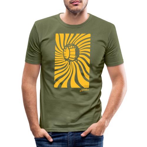 wirbel - Männer Slim Fit T-Shirt