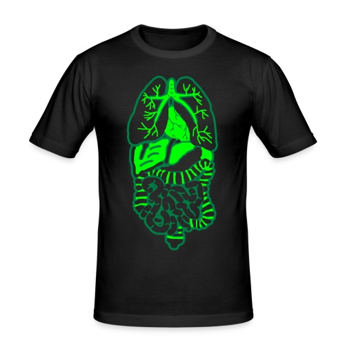 Rumpf - Männer Slim Fit T-Shirt
