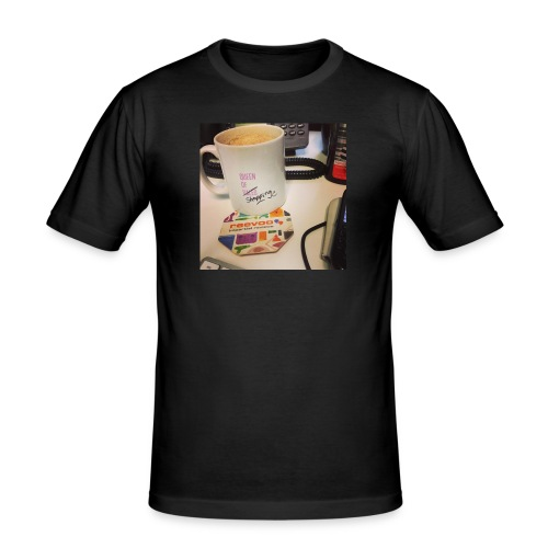 Queen of Shopping Muggins - Men's Slim Fit T-Shirt