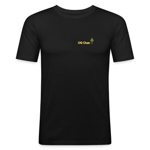 Og Chan Trees - Men's Slim Fit T-Shirt