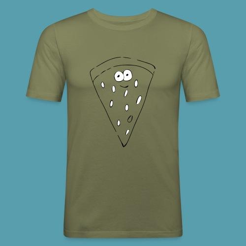 vesimelooni - Miesten tyköistuva t-paita