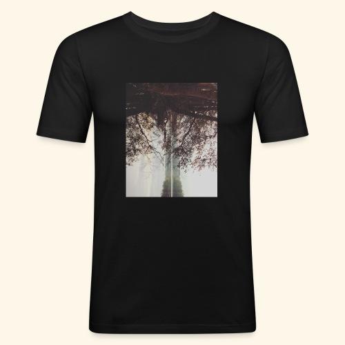 Natura - Obcisła koszulka męska