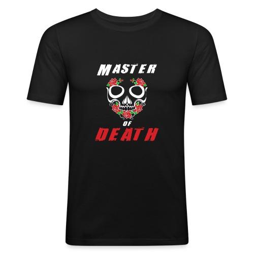 Master of death - white - Obcisła koszulka męska