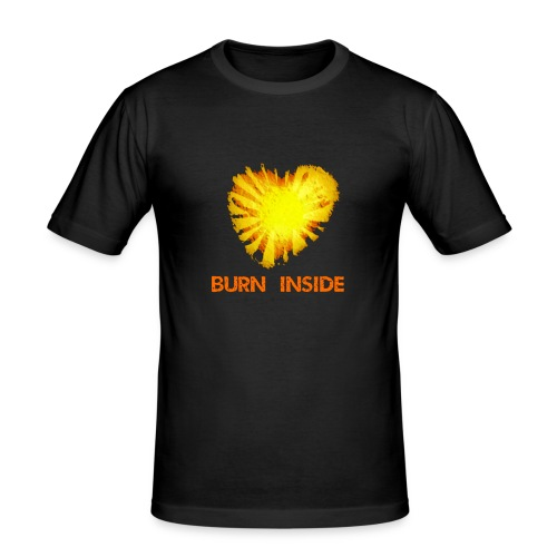 Burn inside - Maglietta aderente da uomo