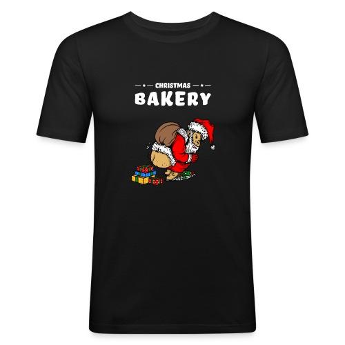 Ugly Weihnachtsmann Weihnachten lustig Sprüche - Männer Slim Fit T-Shirt