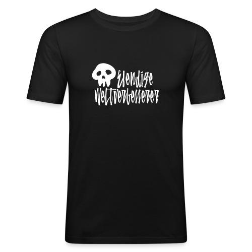 Weltverbesserer - Männer Slim Fit T-Shirt