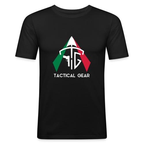 TGI FLAG - Maglietta aderente da uomo