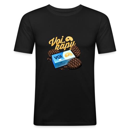 Voi käpy! - Miesten tyköistuva t-paita