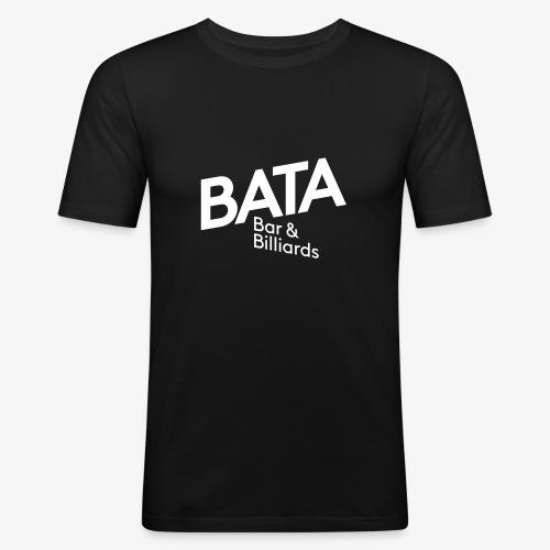 Bata-Logo einfarbig - Männer Slim Fit T-Shirt