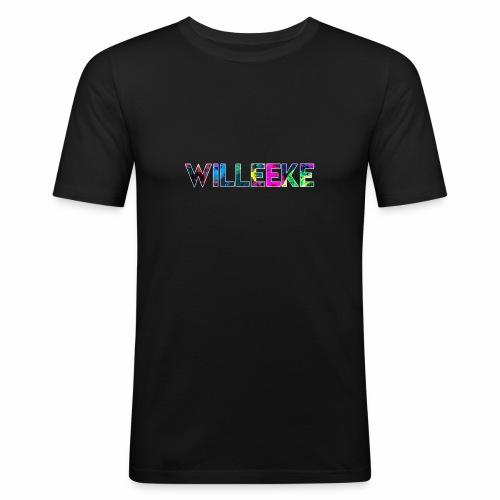 willeeke graffiti whitbar - Slim Fit T-shirt herr