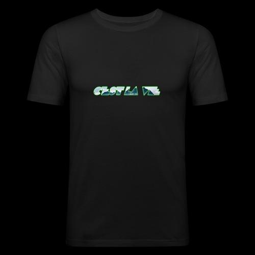 C'est la vie - Herre Slim Fit T-Shirt