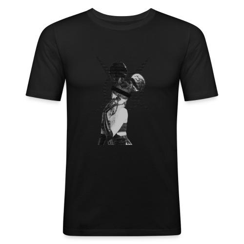micky devil girl - Men's Slim Fit T-Shirt