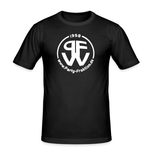 pfwlogo - Männer Slim Fit T-Shirt