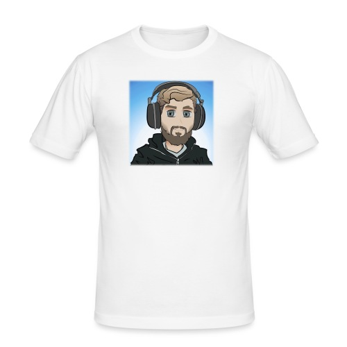 KalzAnimated - Herre Slim Fit T-Shirt