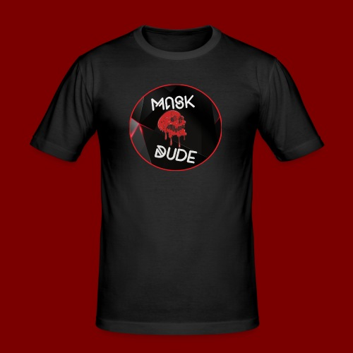 Mask Dude - Men's Slim Fit T-Shirt