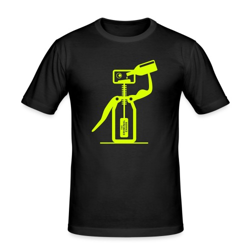 CAVATAPPI UBRIACO - Drunk corkscrew - Maglietta aderente da uomo