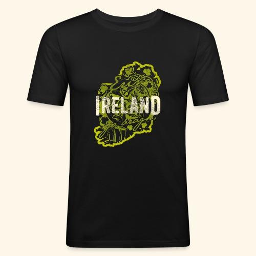 Ireland T Shirt Design - Männer Slim Fit T-Shirt