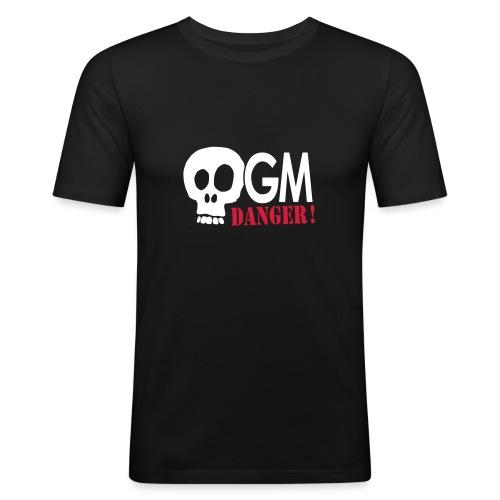 OGM danger ! - T-shirt près du corps Homme