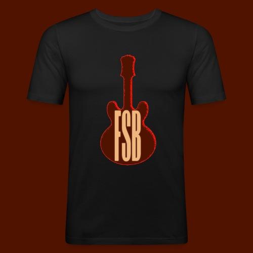 FSB Guitar Logo - Men's Slim Fit T-Shirt