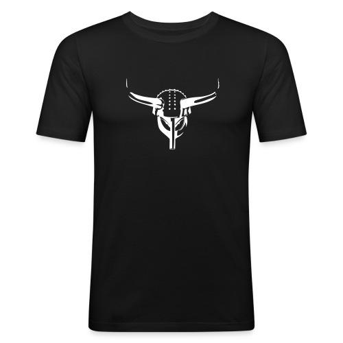 Karmøygeddon Skull - Slim Fit T-skjorte for menn