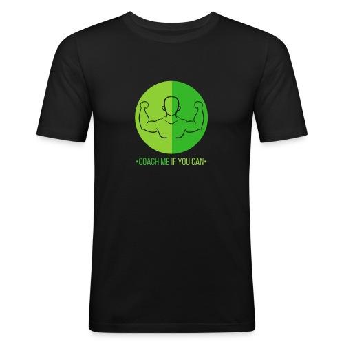 Muscle Vert - T-shirt près du corps Homme
