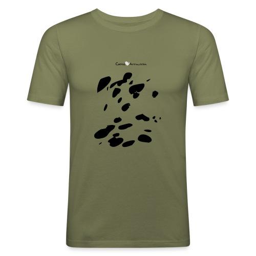Coperta Appaloosa (nero/rosso) - Maglietta aderente da uomo