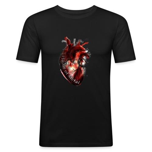 Heart of metal - Maglietta aderente da uomo