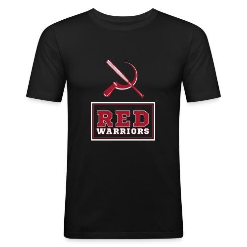 Red Warriors Logo2 - T-shirt près du corps Homme