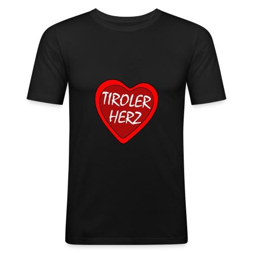 tirolerherz1 kopie - Männer Slim Fit T-Shirt