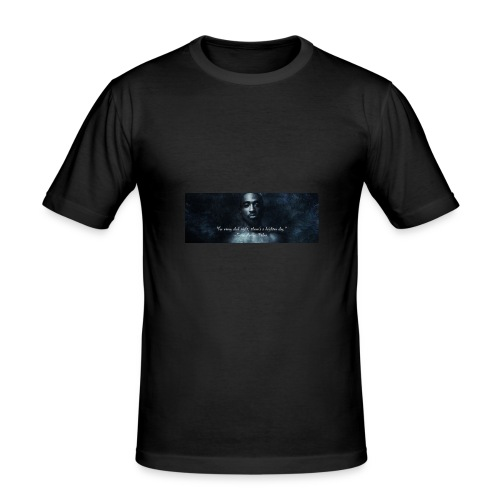 tupa - Mannen slim fit T-shirt