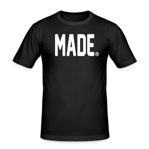 madesc - Slim Fit T-shirt herr