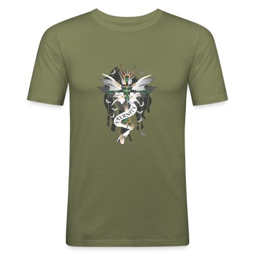 Dragon Sword - Eternity - Drachenschwert - Männer Slim Fit T-Shirt