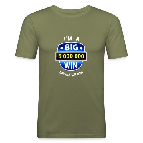 Big Win - Men's Slim Fit T-Shirt