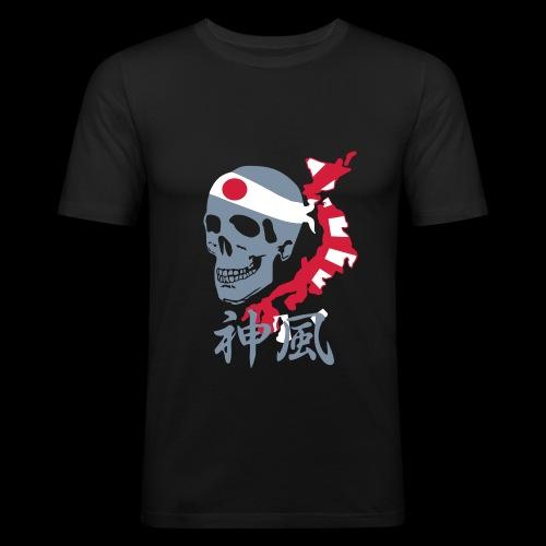 kamikaze_10 - Männer Slim Fit T-Shirt