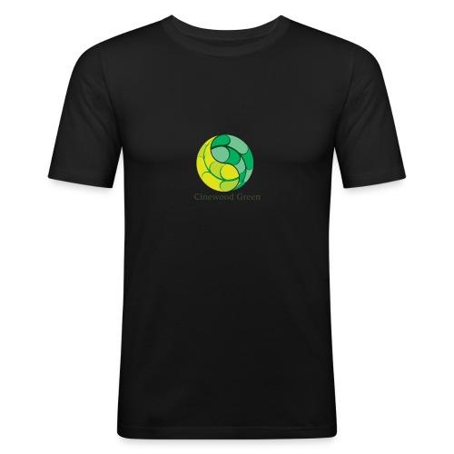 Cinewood Green - Men's Slim Fit T-Shirt