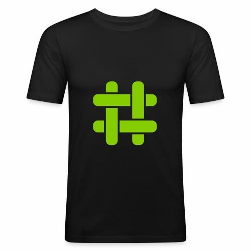Briar Logo - Men's Slim Fit T-Shirt