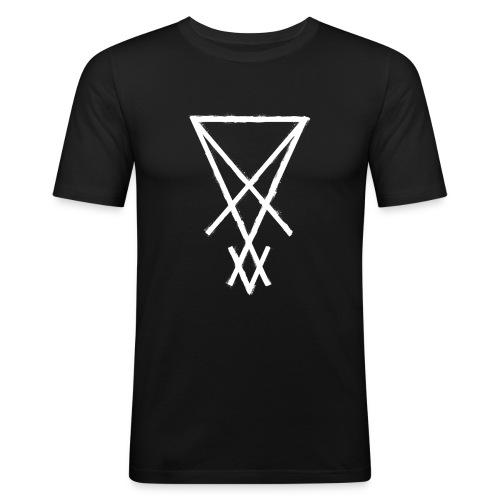 symbol lucifer sigil 1 - Men's Slim Fit T-Shirt