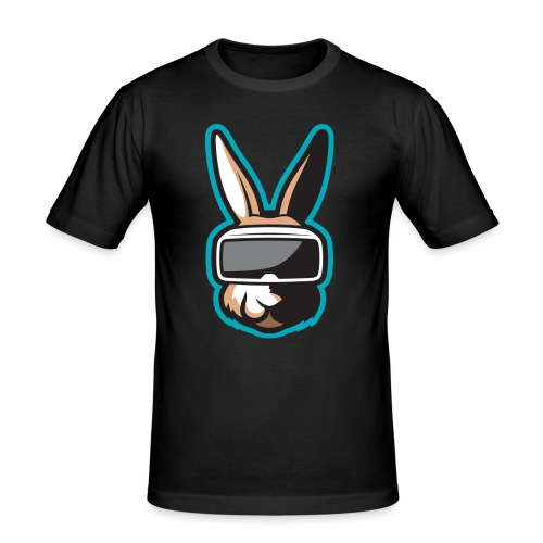 TiG Rabbit logo - Men's Slim Fit T-Shirt