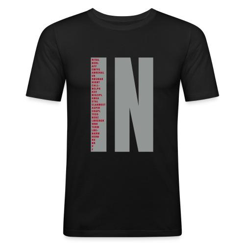 IN - Männer Slim Fit T-Shirt