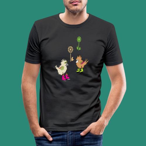 bunte vögel,Colorful birds - Männer Slim Fit T-Shirt
