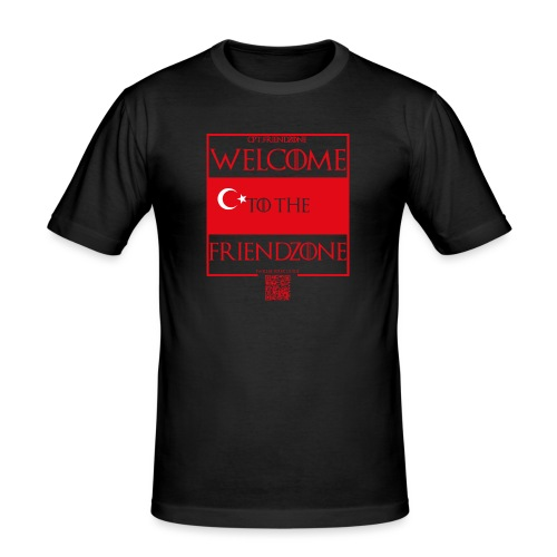 Türkei Männer - Männer Slim Fit T-Shirt