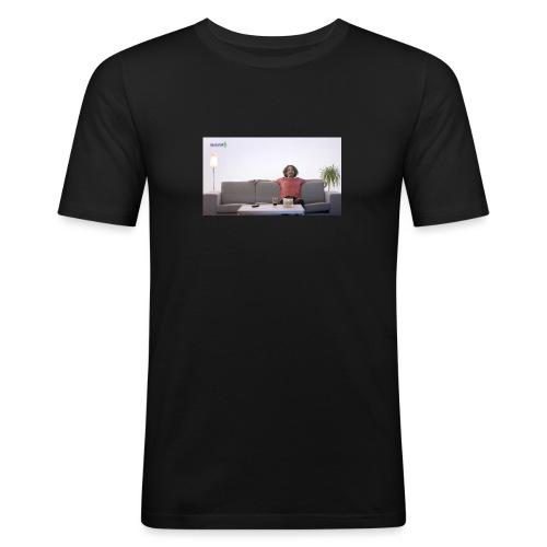 Elkjøp-Daniel - Slim Fit T-skjorte for menn