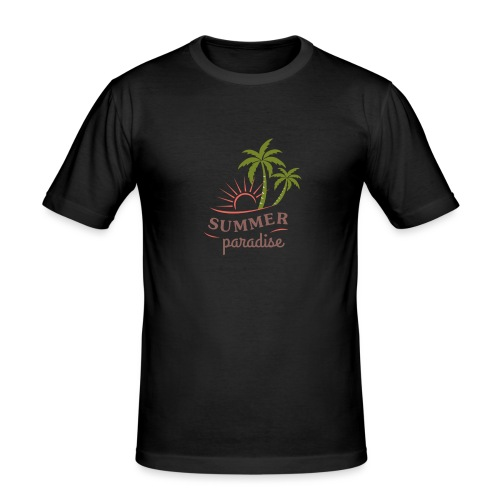 Summer paradise - Men's Slim Fit T-Shirt