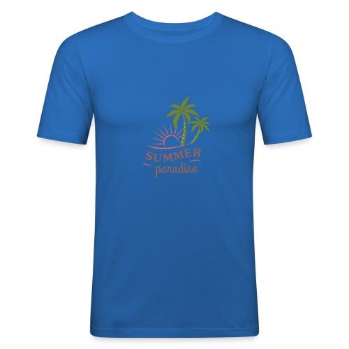 Summer paradise - Men's Slim Fit T-Shirt
