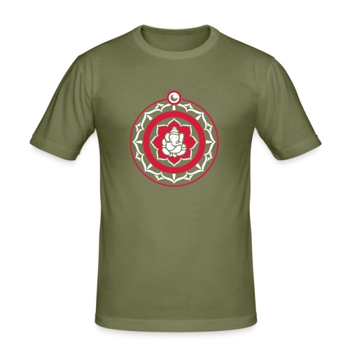 Ganesha mandala - slim fit T-shirt